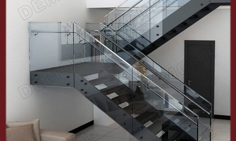 Shape Steel Stairs Grill Design Home