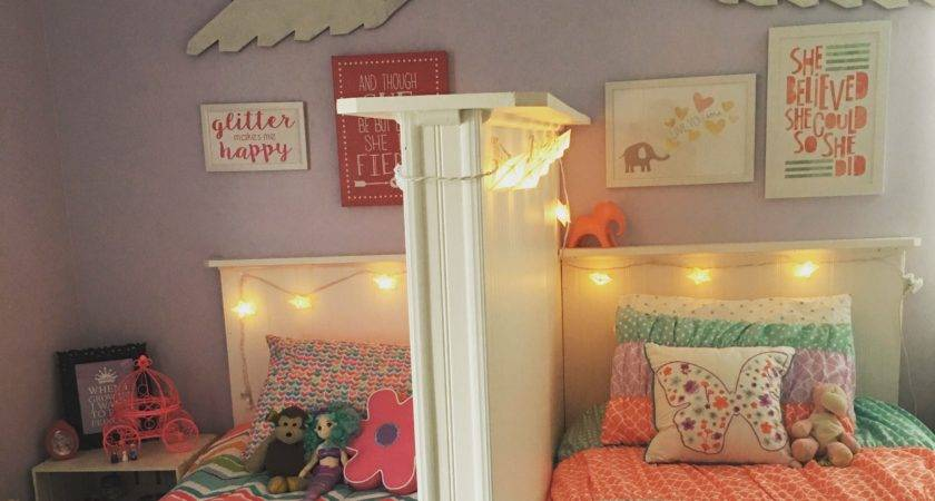 Shared Little Girls Bedroom Love Because Each Them