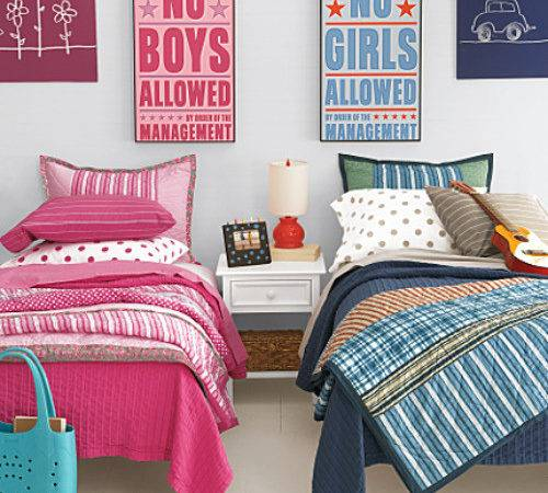 Shared Spaces Boy Girl Rooms