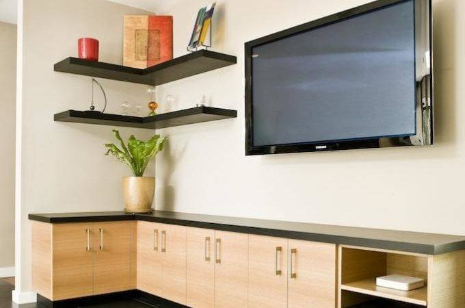 Sharp Small Living Room Interior Cabinets