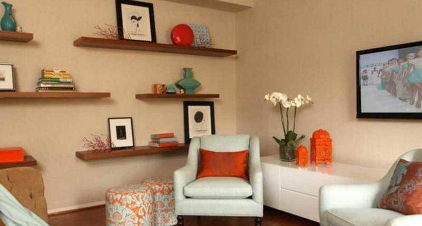 Shelving Ideas Living Room Walls Floating Shelf