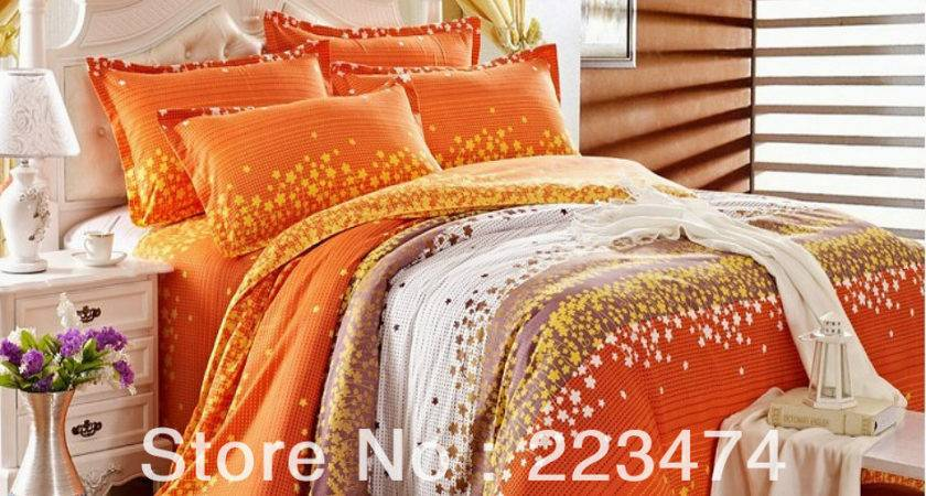 Shipping New Cotton Orange Red Green