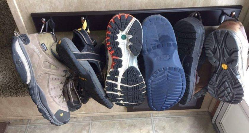 Shoe Storage Organizing Tips Ideas Rvs Campers