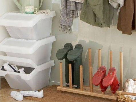 Shoe Storage Solutions Boot Room Ideas Steps
