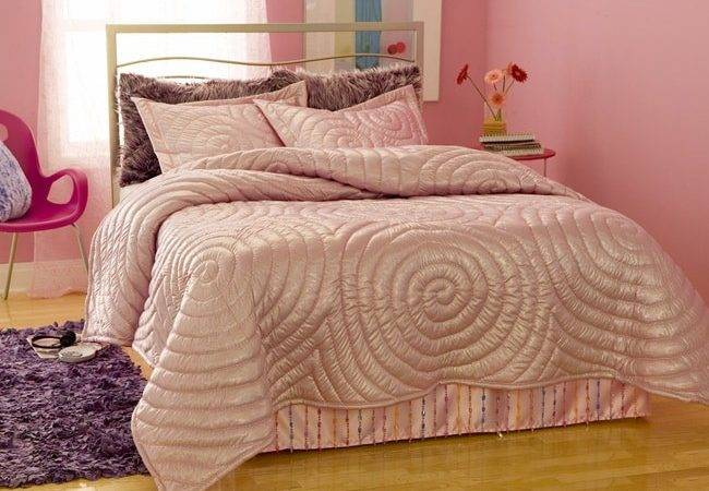 Shop Glitter Pink Comforter Set Shipping Today