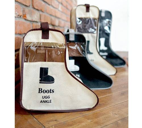 Short Boots Shoes Storage Cover Bag Protector Home