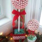 Show Tell Share Peppermint Topiary Trees