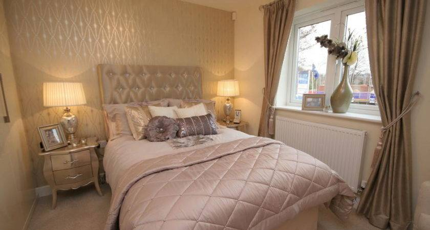 Silky Glamorous Sumptuous Bedroom Northern Design
