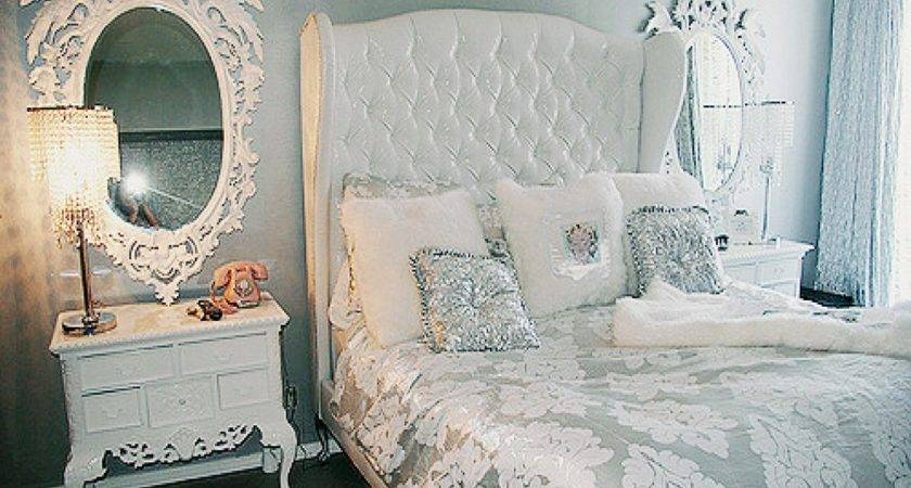 Silver Bedroom Ideas White Tumblr
