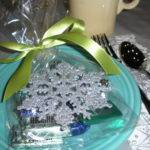 Silver Blue Christmas Table Decorations