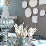 Silver Gold Holiday Table Inspired Room