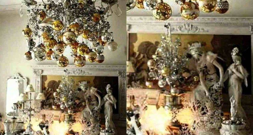 Silver Gold Outdoor Christmas Decorations