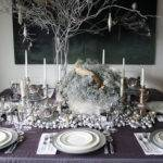 Silver Holiday Table Decor Heather Christo