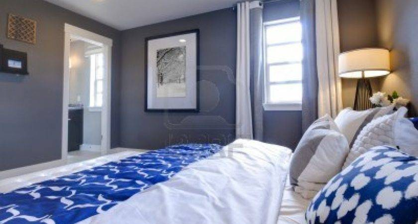 Simple Blue White Bedroom Inspiration