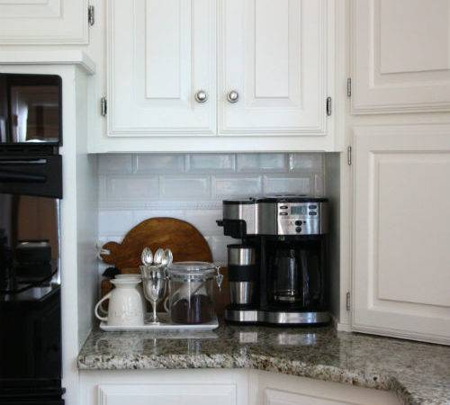 Simple Coffee Station Creating Life