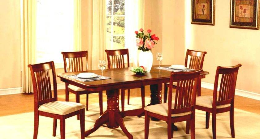 Simple Dining Room White Chairs House
