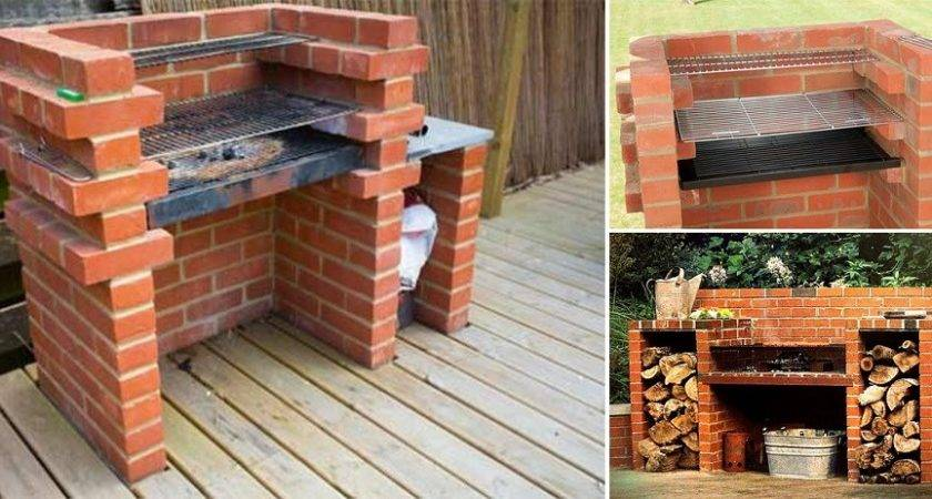 Simple Diy Brick Bbq Project Cozy Home