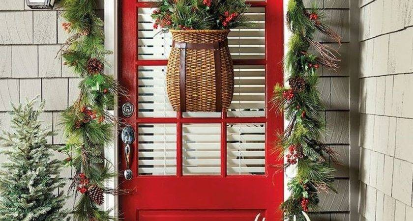 Simple Diy Christmas Door Decorations Home
