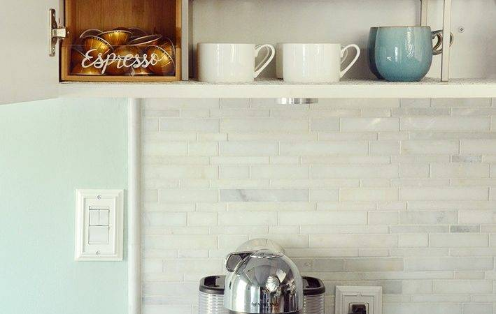 Simple Diy Home Coffee Station Curbly