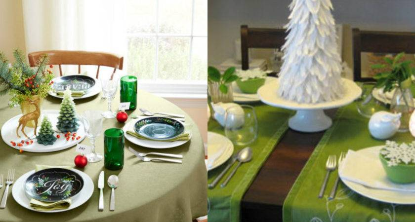 Simple Easy Christmas Table Decorations Great