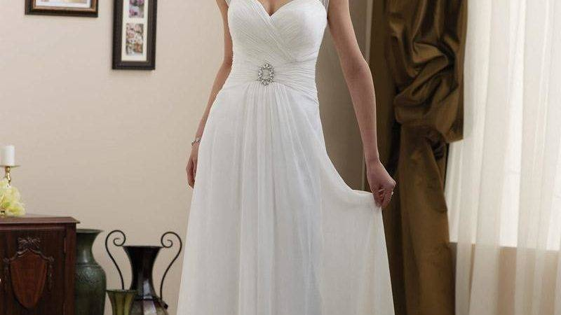Simple Elegant Vintage Wedding Dresses Dxkx Trend