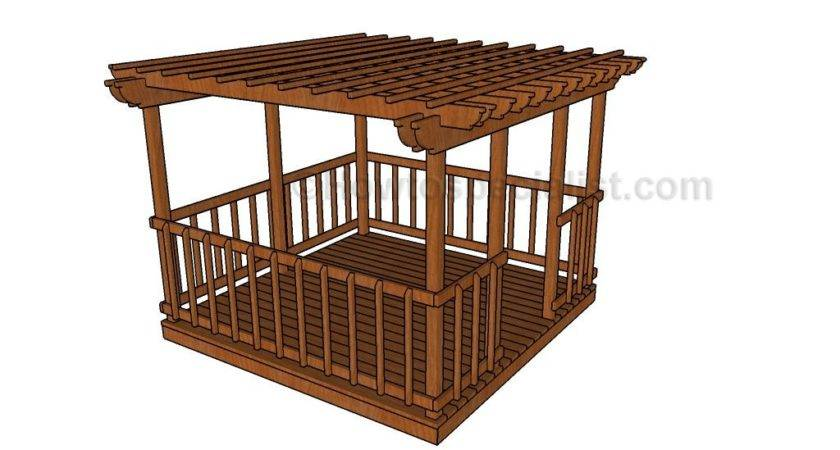 Simple Gazebo Plans Howtospecialist Build Step