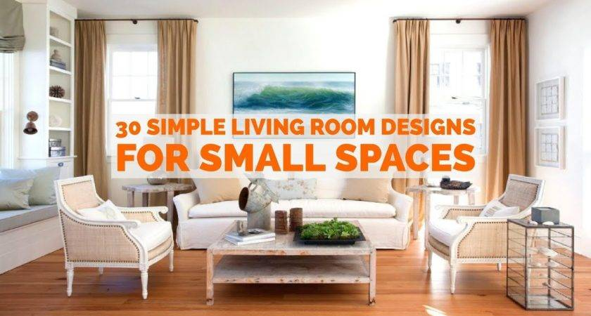 Simple Living Room Designs Small Spaces Youtube