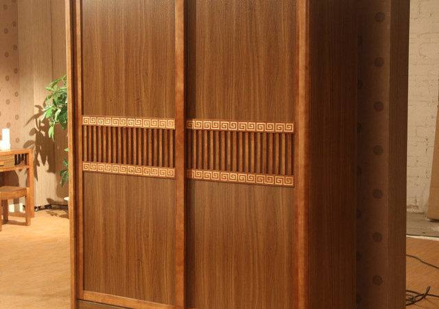 Simple Modern Chinese Furniture Residential Wood Sliding