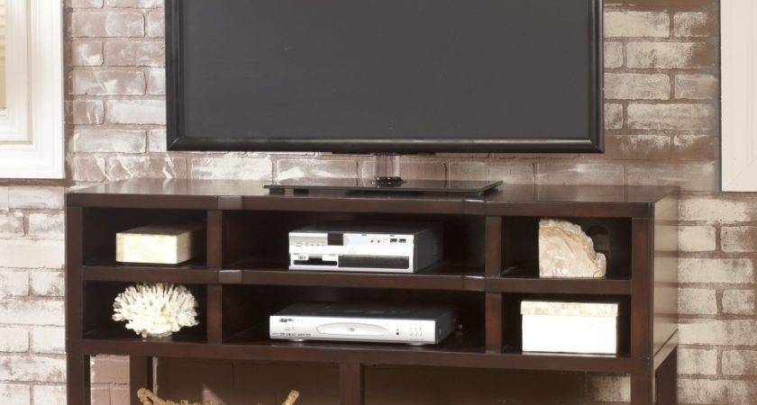 Simple Modern Oak Flat Screen Stand Console Table
