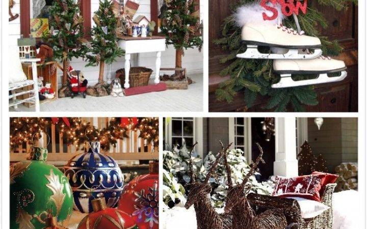 Simple Outside Christmas Decorations Best Outdoor