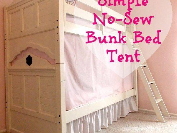 Simple Sew Bunk Bed Tent Palette Muse