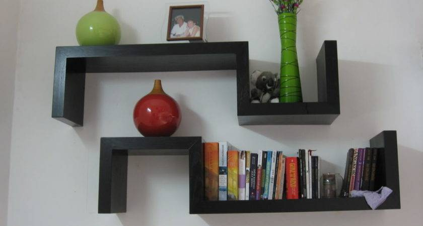 Simple Wall Bookcases Plenty Styles