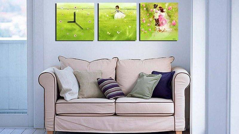 Simple Wall Decoration Living Room Always Trend