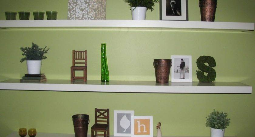 Simple Wall Shelf Design