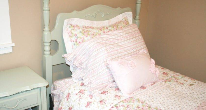 Simply Projects Shabby Chic Headboard Foot Board Makeover