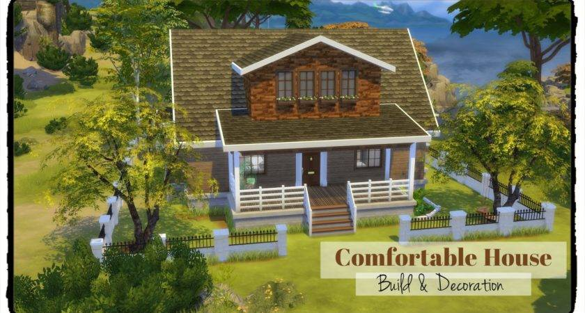 Sims Comfortable House Dinha