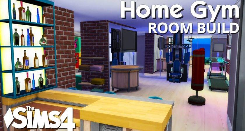 Sims Room Build Home Gym Youtube
