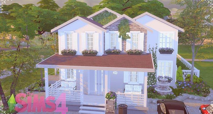 Sims Speed Build Comfortable House Youtube