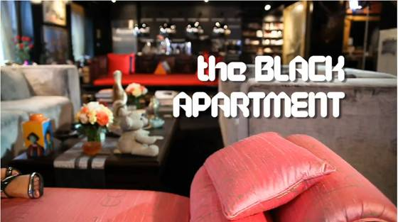 Six Decorating Tips Cindy Gallop Black Apartment
