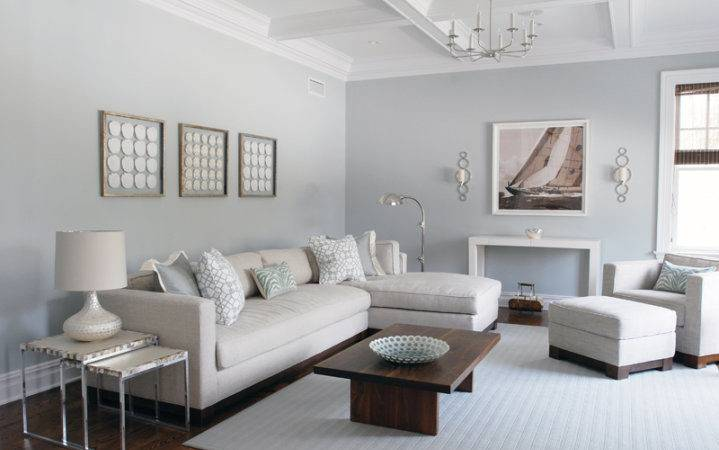 Slate Blue Living Room Walls Design Ideas
