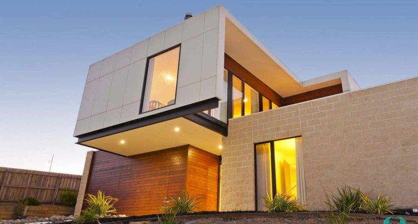 Sloping Block House Designs Geelong Split Level Home