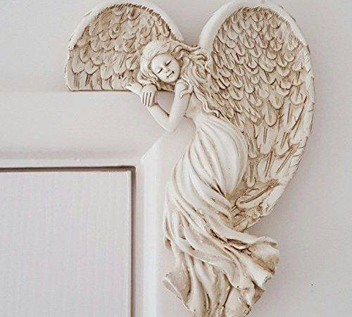 Small Angel Door Frame Decoration Vintage Shabby Chic