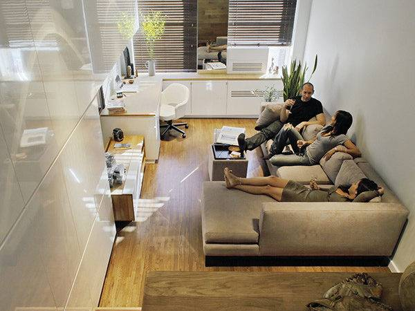 Small Apartment Design Solutions Narrow Space