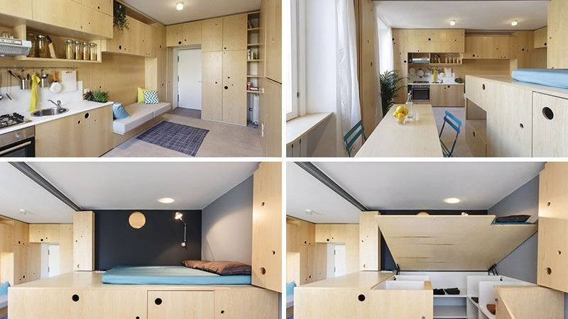 Small Apartment Filled Creative Ideas