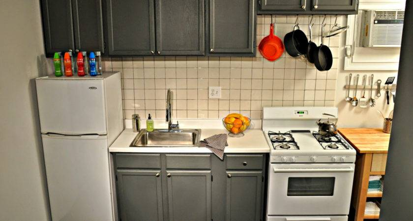 Small Apartment Galley Kitchen