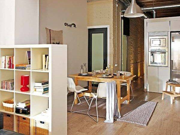 Small Apartment Redecoration Barcelona Young Couple