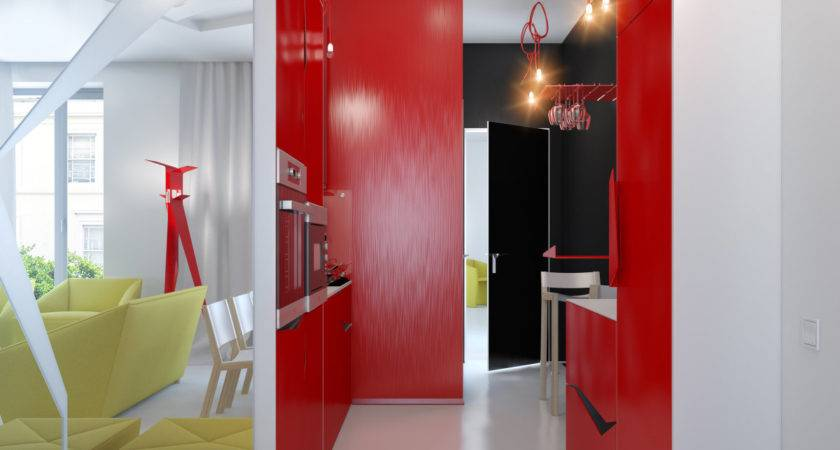 Small Apartment Zinging Color