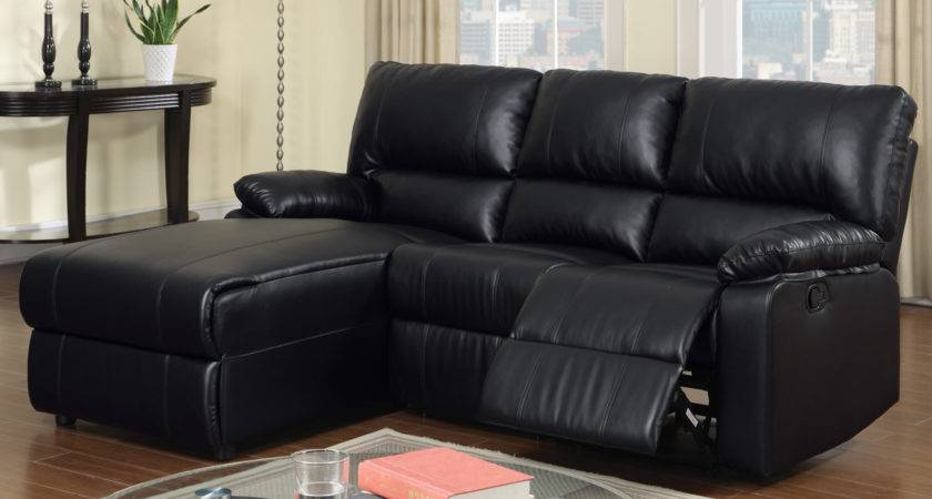 Small Black Leather Sectional Sofa Cleanupflorida