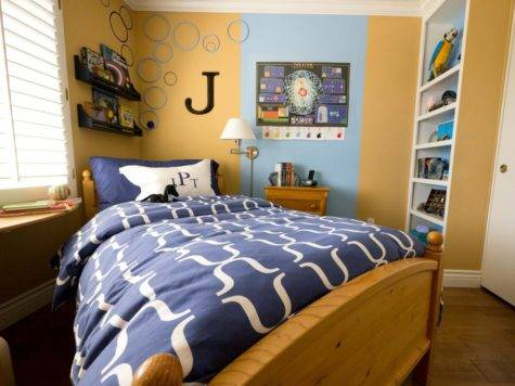Small Boy Room Big Storage Needs Kids Ideas