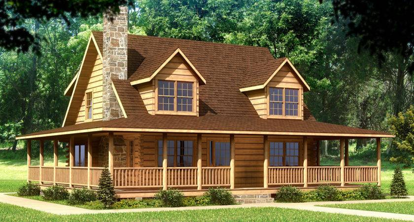 Small Cabin Style House Plans Log Loft Home Design
